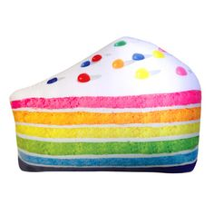 Piece of cake vanilla scented microbead pillow