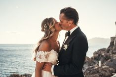 Our hearts are melting from all the sweetness at this Amalfi coast wedding | Image by Karin Lundin