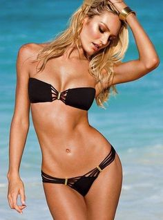 Cheap bikini for women, Buy Quality bikini sexy directly from China bikini sexy bikini Suppliers: Solid Black Body Sexy Bikini For Women Bandage Push-up Padded Bra Triangle Swimsuit Swimwear Newest 2016 Bikini Bandeau, Sexy Bikini, Bandeau Tops, Bikini Noir, Tankini, Bikini String, Bikini Push Up, Haut Bikini, The Bikini
