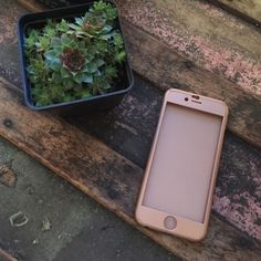 Traded Rose gold iPhone 6/6s case Beautiful Rose gold case  slightly used, but no damage Accessories Phone Cases