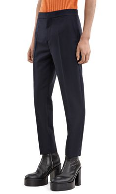 Acne Studios Phono pw mh navy Chino trousers