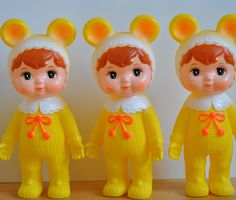 Yellow Woodland Doll | Funky Kitsch