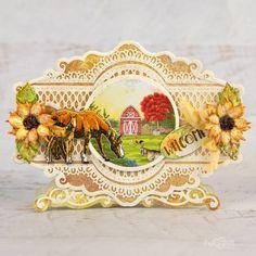 Heartfelt Creations - Farmers Market Glitter Flowers, Foam Sheets, Card Making Tutorials, Oval Frame, Heartfelt Creations, Paper Decorations, Card Sizes, Farmers Market