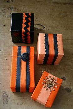 Matthew Mead Halloween Tricks and Treats presents wrapping