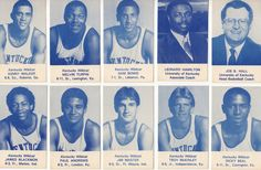 "In today's Old School Design, we take a look back into college basketball history at the Kentucky Wildcats and some great old poster and schedule designs. The Kentucky Wildcats basketball team was known that year as the ""Twin. Kentucky College Basketball, Wildcats Basketball, Basketball Coach, Basketball Shoes, Basketball History, Basketball Tricks, Basketball Pictures, Kentucky Athletics"