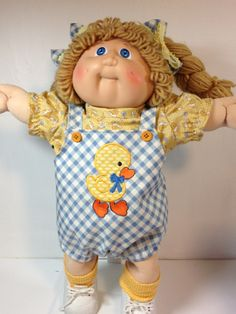 Cabbage Patch Romper Duck