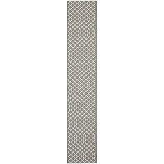 Safavieh Courtyard Collection CY6919-246 Runner Area Rug, 2-Feet 3-Inch by 10-Feet, Grey, http://www.amazon.com/dp/B0074FH3M2/ref=cm_sw_r_pi_awdm_XMuFub1XFAMA4