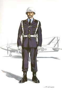 POLICIA DE LA AVIACIÓN .- 1975