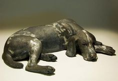 Dog Sculptures - Clay Animal Sculptures by Nick Mackman
