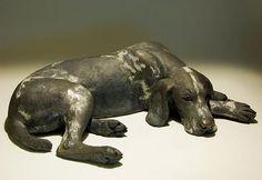 Dog Sculptures - Clay Animal Sculptures by Nick Mackman