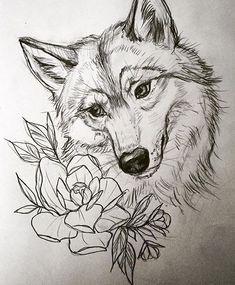 Картинки по запросу волк рисунок карандашом поэтапно