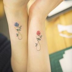 Show your everlasting love for your momma with a little mother-daughter tattoo action.