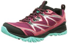 MERRELL Capra Bolt GTX Ladies Hiking Shoe, Light Pink, US9 ** More info could be found at the image url.