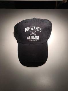 83c636cb Hogwarts Alumni Embroidered Black Baseball hat - Freshtops Marketplace