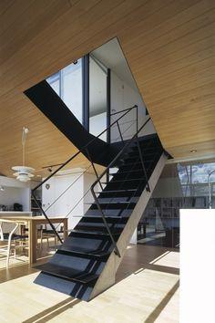 リビング階段(前橋の家)- その他事例