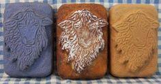 Scruffy Sheep Primitive Silicone Soap Mold Prim Lamb by grandhorse