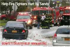 Help IAFF Members Affected by Hurricane Sandy