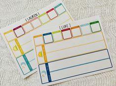 Routine Printable, Printable Chore Chart, Chore Chart Kids, Printable Cards, Printables, Daily Schedule Kids, Chore Cards, Routine Chart, Daily Task
