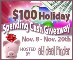 $100 cash giveaway!