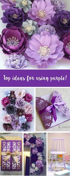 Purple has been named as Pantone's colour of 2018. To celebrate, we've put together our top DIY purple craft ideas you can do at home. From papercrafts to upcycling projects, we've got it all. Feature your make with us using #mymakingstory - #pantone #crafts #DIYproject #handmadecrafts #sizzix #papercrafts #makersgonnamake