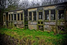 Abandoned Railway Carriage by BigBurls