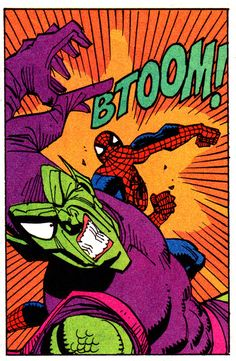 Spider-Man vs. Green Goblin by Sal Buscema