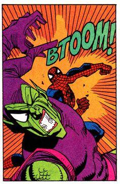 Spider-Man vs. Green Goblin by Sal Buscema