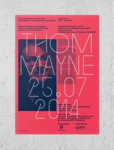 Thom Mayne Poster - From up North