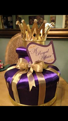Crown centerpieces made by Milanosny on Etsy all colors and styles Crown Centerpiece, Centerpiece Decorations, Royalty Baby Shower, Bar Mitzvah, Sweet Sixteen, Quinceanera, Sweet 16, Crowns, All The Colors