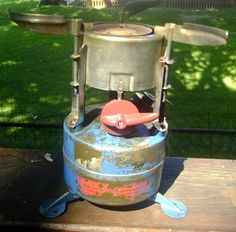 M1950 stove - old blue