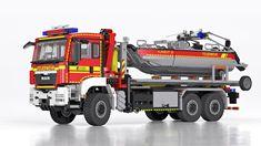 LEGO MAN TGS Hooklift Truck with Boat - Wechselladerfahrze… | Flickr