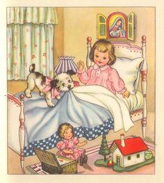 LÁMINAS VINTAGE,ANTIGUAS,RETRO Y POR EL ESTILO.... (pág. 1054) | Aprender manualidades es facilisimo.com Images Vintage, Art Vintage, Vintage Drawing, Vintage Children's Books, Vintage Pictures, Vintage Greeting Cards, Vintage Christmas Cards, Christmas Art, Vintage Postcards