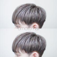 Medium Hair Cuts, Medium Hair Styles, Curly Hair Styles, Jungkook Hairstyle, Hair Style Korea, Short Hair Tomboy, Two Block Haircut, Dyed Hair Men, Asian Haircut