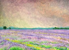 Buy Lavender Fields, Norfolk, Acrylic painting by Lisa Mann on Artfinder. Discover thousands of other original paintings, prints, sculptures and photography from independent artists.