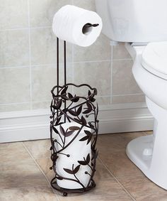 take a look at this orb jardine toilet paper stand by aq on zulily today