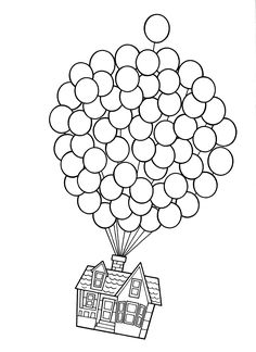 Disney Up Coloring Pages. 20 Disney Up Coloring Pages. Coloring Pages Fabulous Up Coloring Pages Printable Grown House Colouring Pages, Disney Coloring Pages, Free Printable Coloring Pages, Coloring Pages For Kids, Coloring Books, Kids Coloring, Up House Drawing, Drawing Drawing, Disney Up House
