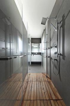 Urban #Apartment by #Architect Michal Schein #bathroom