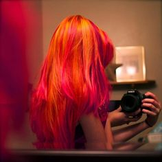 orange and pink hair - Google Search