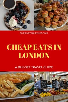 London may be home to 71 Michelin-starred restaurants, but that doesn't mean you have to blow your entire travel budget on food. Despite what you may have heard, there are plenty of delicious, cheap eats in London to satisfy budget travelers and foodies alike. #London