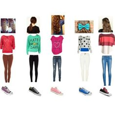 Week outfits