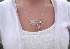 Silver Filigree Leaf Charm Charm Necklace by Redbirdjewels Great gift idea :) https://www.etsy.com/listing/211238036/silver-filigree-leaf-charm-charm?ref=shop_home_active_4