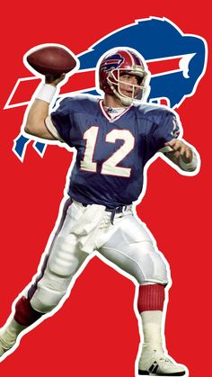 Football Pictures, Sports Photos, Buffalo Bills Football, Jim Kelly, Sports Wallpapers, School Football, Vintage Football, Tough Guy, Nfl Jerseys
