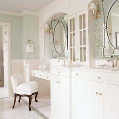 Venetian mirrors love!
