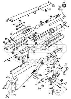 Model 1100 Exploded View Remington Model 1100