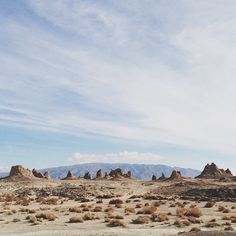 The pinnacles of Trona. Trona, California, USA