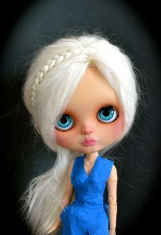 Daenerys Stormborn Custom Blythe Doll by AnythingForTheGirl