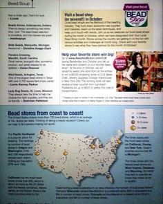 Bead Shop Shopping Spree Got to http://www.BeadAndButton.com/CJS during September and October and tell us the name and location of your favorite bead shop. At the end of October, we will randomly select one store from all the entries to win a $5000 shopping spree at CJS Sales: Craft, Jewelry, Supplies (Vintage Warehouse) in New York City! The winning store will also receive a travel voucher from Kalmbach Publishing for up to $500 to defray the cost of transportation.