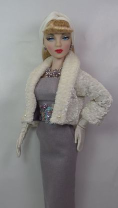 Plum Brulé for Gene and friends 16 inch fashion doll