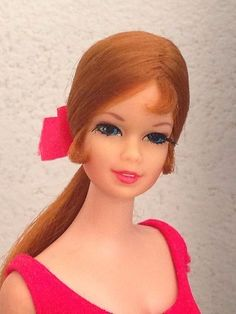 beautiful 1968 mattel tnt copper penny stacey doll!~ | Beautiful ...
