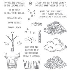 Sprinkles of Life, Stampin' Up!